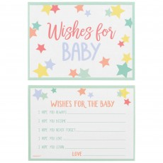 Baby Shower Party Supplies - Wishes for Baby Cards