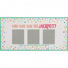 Baby Shower Party Supplies - Party Games Scratch Off Card