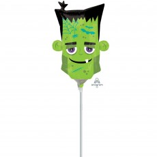 Halloween Mini Monster Head Shaped Balloon