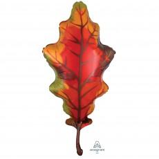 Misc Occasion SuperShape Autumn Oak Leaf Shaped Balloon 50cm x 106cm