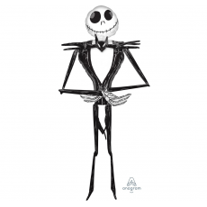 Halloween Jack Skellington Airwalker Foil Balloon