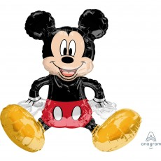 CI: Decor Sitting Mickey Mouse Shaped Balloon 45cm x 45cm