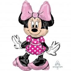 Minnie Mouse CI: Decor Shaped Balloon 45cm x 48cm