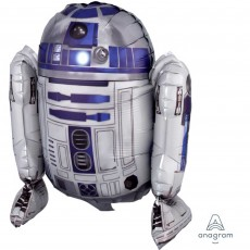 Star Wars CI: Decor Sitting R2D2 Shaped Balloon