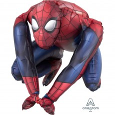 CI: Decor Sitting Spider-Man Shaped Balloon 38cm x 38c