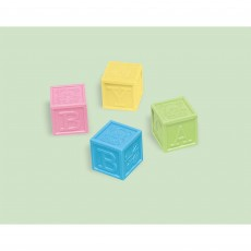 Baby Shower - General Baby Block Favours Pack of 4