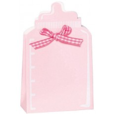 Pink Shaped Kit Favour Boxes Pack of 24