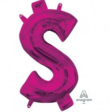 ink Dollar Sign CI: $ Shaped Balloon 40cm