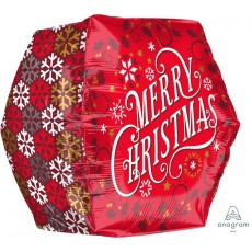 Christmas UltraShape Geometric Shaped Balloon