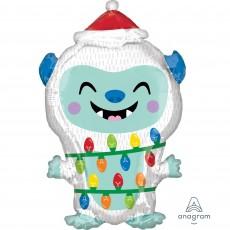 Christmas Party Decorations - Shaped Balloon Junior XL Christmas Yeti