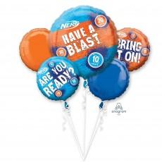 Nerf Bouquet Foil Balloons