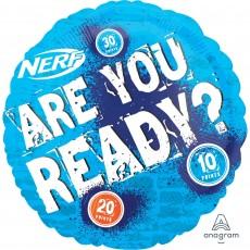 Nerf Standard HX Foil Balloon