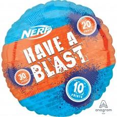Nerf Jumbo Shape HX Foil Balloon