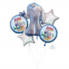 SmallFoot Bouquet Foil Balloons