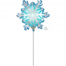 Christmas Mini Snowflake Shaped Balloon