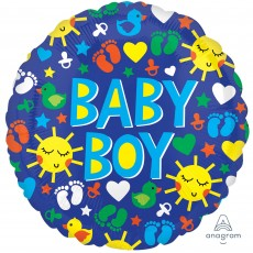 Baby Shower - General ColorBlast XL Sunshine Fun Foil Balloon