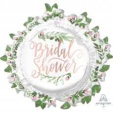 Bridal Shower Love and Leaves SuperShape Shaped Balloon