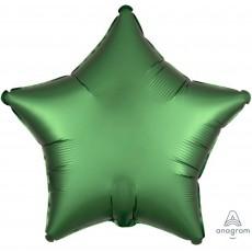 Green Satin Luxe Emerald Standard XL Shaped Balloon