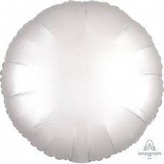 White Satin Luxe Standard HX Foil Balloon