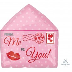 Junior Shape Love Letter From Me to You Shaped Balloon