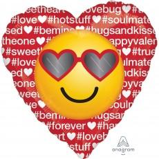 Emoji Standard HX Emoticon Shaped Balloon