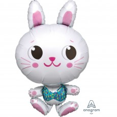 Easter SuperShape XL Funny Bunny Shaped Balloon