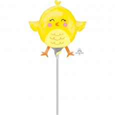 Easter Mini Chicky Shaped Balloon