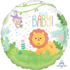 Fisher Price Hello Baby Standard HX Foil Balloon