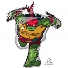 Rise of the Teenage Mutant Ninja Turtles SuperShape Raphael Shaped Balloon 73cm x 86cm