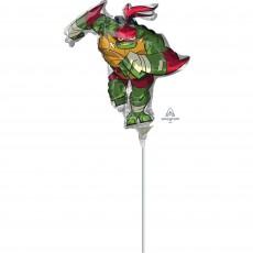 Rise of the Teenage Mutant Ninja Turtles Mini Raphael Shaped Balloon