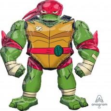 Rise of the Teenage Mutant Ninja Turtles Raphael Airwalker Foil Balloon 119cm x 137cm