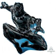 Black Panther SuperShape Shaped Balloon 81cm x 81cm