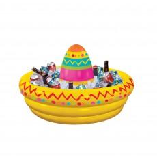 Mexican Fiesta Inflatable Sombrero Drink Cooler