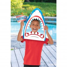 Hawaiian Luau Summer Luau Shark Head Photo Prop