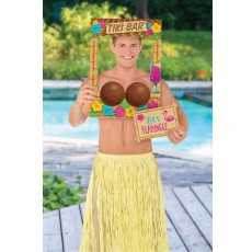 Hawaiian Party Decorations Summer Luau Coconut Bra Photo Props