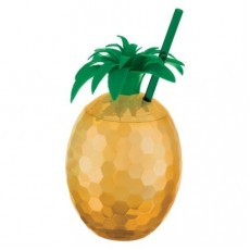 Gold Party Supplies - Pineapple