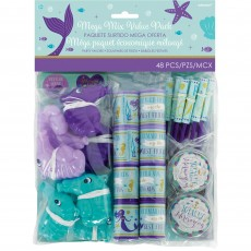 Mermaid Wishes Mega Mix Favours Pack of 48