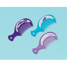 Mermaid Wishes Mini Plastic Comb Favours