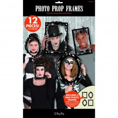 Halloween Gothic Frame Booth Photo Props