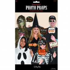 Halloween Party Supplies - Photo Props - Halloween Signs