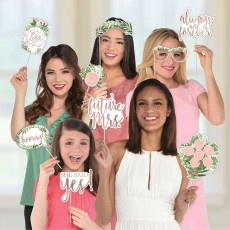Bridal Shower Love and Leaves Photo Props