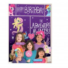 My Little Pony Party Decorations - Scene Setters Friendship Adventures