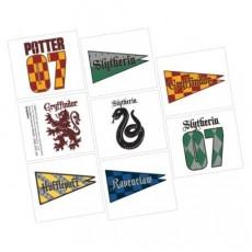 Harry Potter Tattoo Favours 5cm x 4cm 8 Tattoos