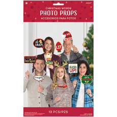 Christmas Word Signs Photo Props