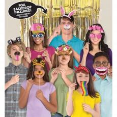 Happy Birthday Party Supplies - Photo Props Social Media Deluxe