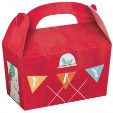 Barnyard Treat Favour Boxes 19cm x 14cm x 10cm Pack of 8