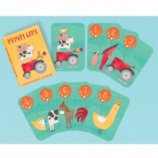 Barnyard Memory Playing Card Party Games