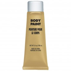 Gold Body Paint Costume Accessorie