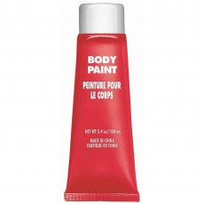 Red Party Supplies - Body Paint