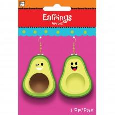 Mexican Fiesta Party Supplies - Avocado Earrings
